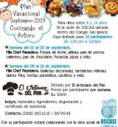 Plan Vacacional de Cocina profondos OSCASI