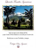 Tarjeta de Navidad 2014 Colegio San Igancio