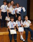 Premiación Olimpiadas Infantiles de Matemática 2013 – 2014